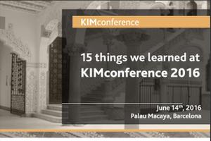 KIMconf2016