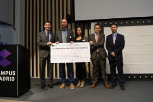 Entrega de premios ESA Tech-Landing 2016