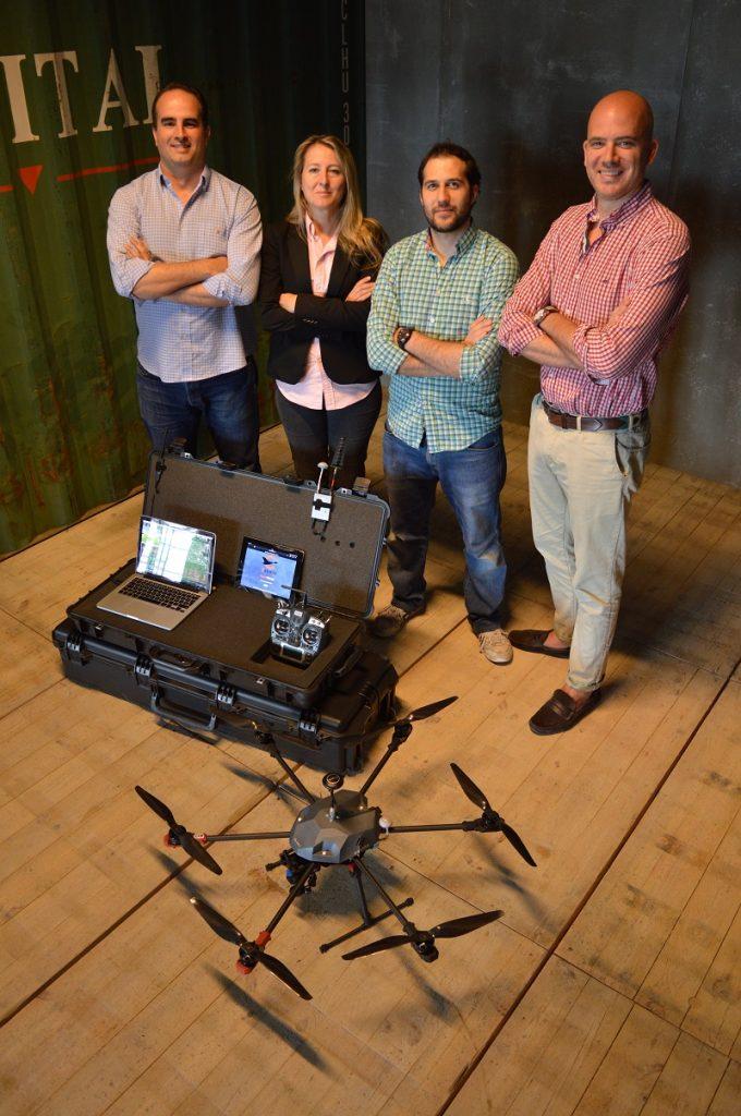 Equipo de Canard Drones