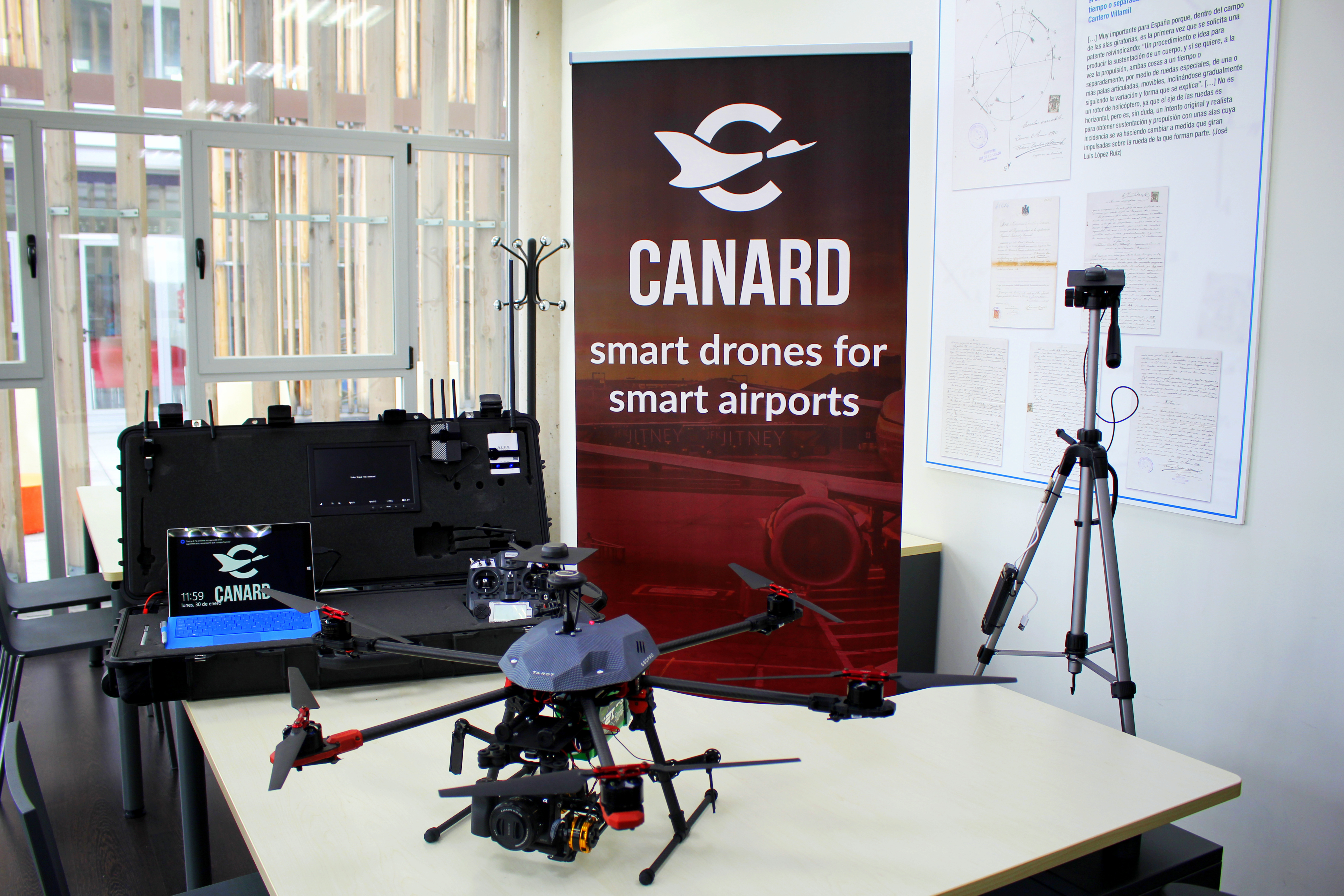 Drone equipment (© Canard Drones)