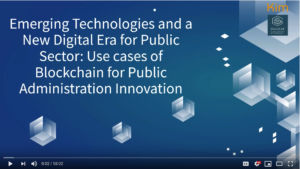 WebinarKIM- Emerging Technologies and a New Digital Era for Public Sector