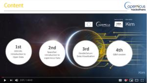 Webinar- #CopHack: The future of Data Copernicus