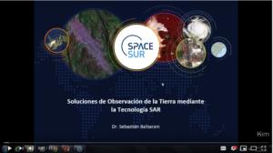 WEBINAR: Soluciones de Observación de la Tierra mediante la tecnología SAR