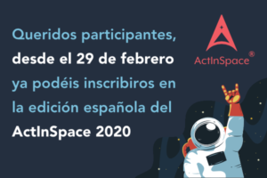 ActInSpace2020-Madrid