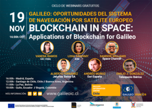 Blockchain in space