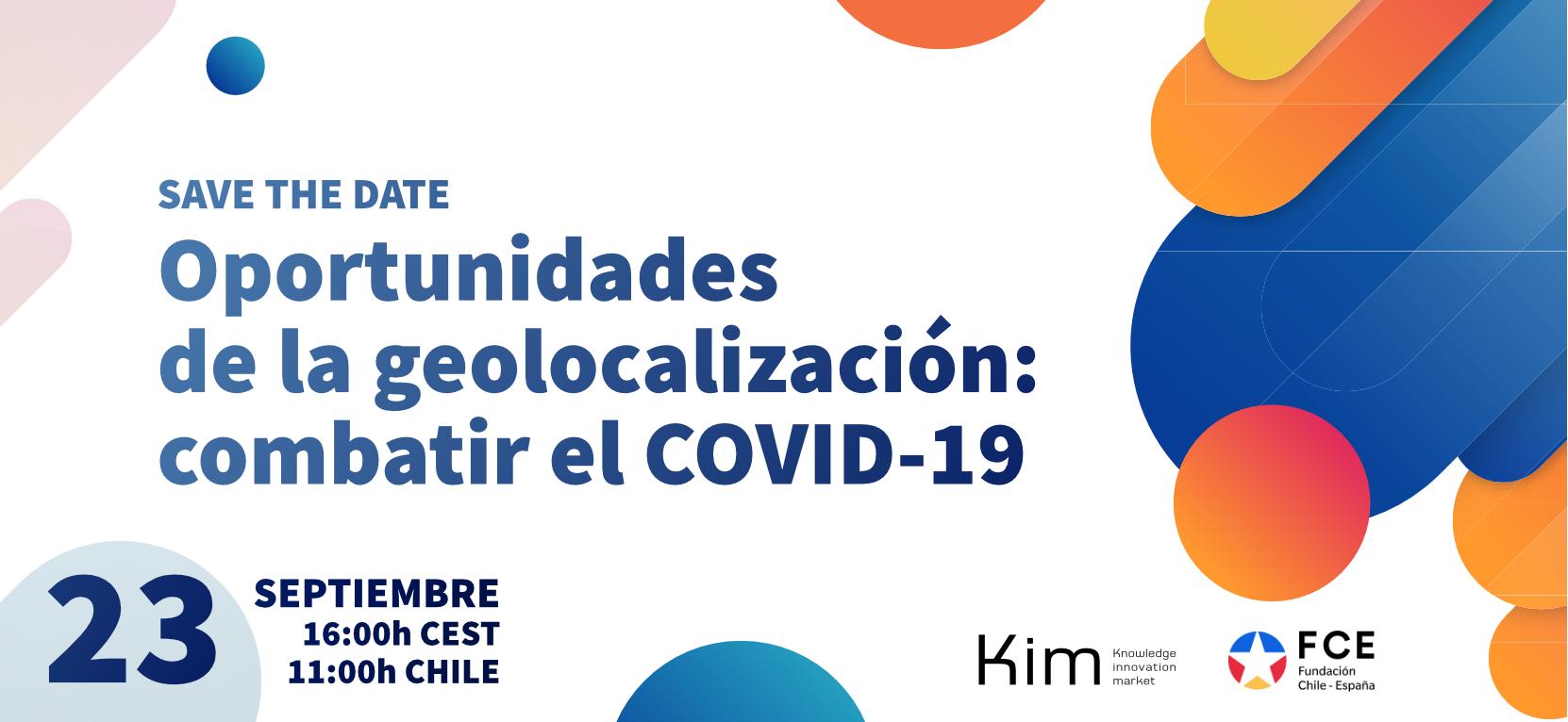 Webinar: Oportunidades de la geolocalizacion: Combatir el COVID-19
