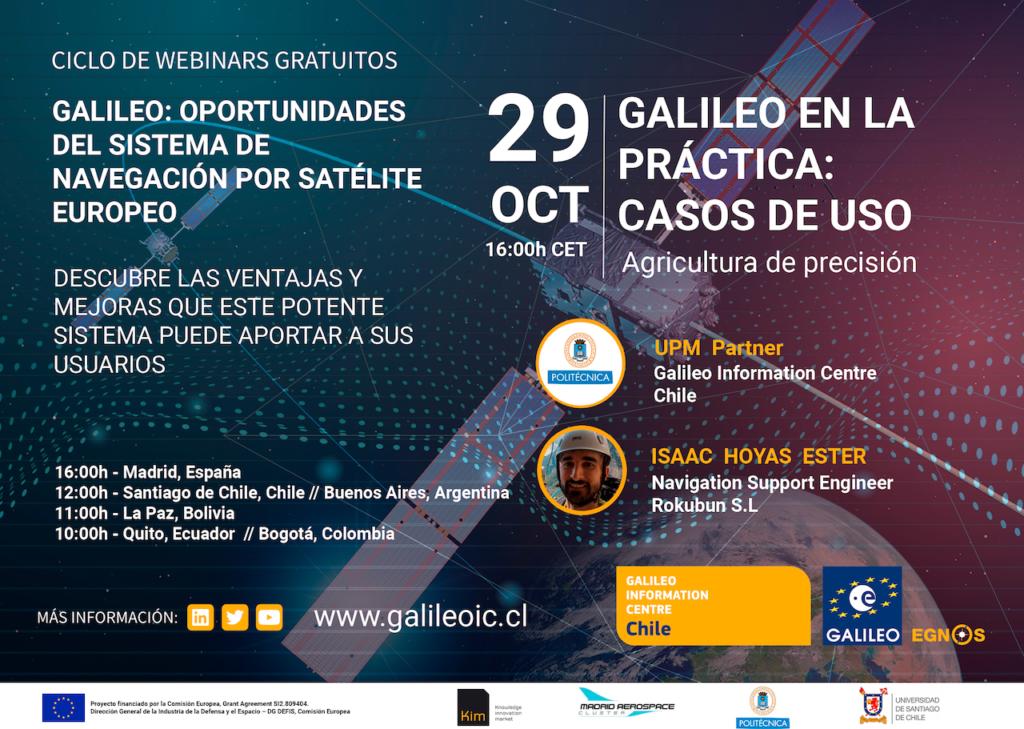 Galileo en la práctica | Casos de uso: Agricultura de precisión
