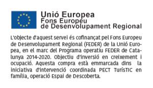 Unió Europea - Fons Europeu de Desenvolupament Regional