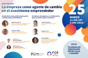 WEbinar La empresa como agente de cambio en el ecosistema emprendedor Chile-España